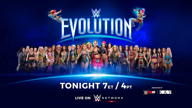 WWE Evolution Results 2018
