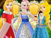 بنات اميرات في حفلة شاي