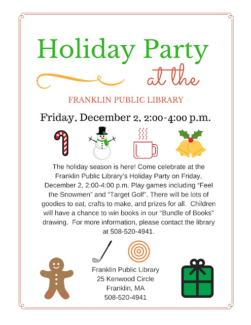 Franklin Library: Holiday Party - Dec 2