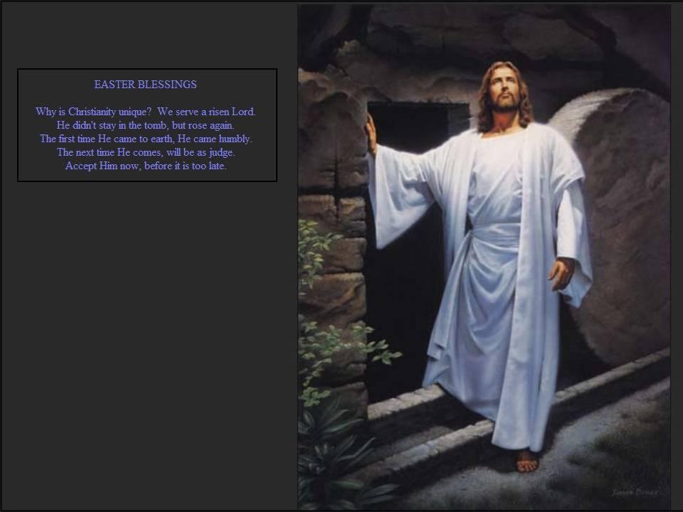 Jesus Christ 3d Wallpaper Easter Blessings Jesus Resurrection Wallpaper Free