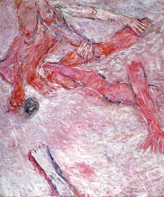 Susan Rothenberg Falling