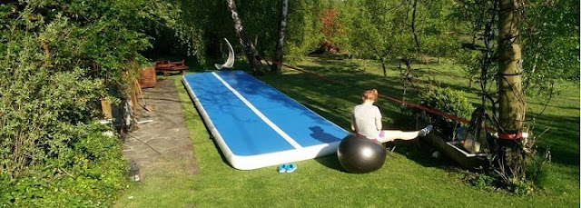 Inflatable Tumble Track Gymnastics, Untuk Kebutuhan Senam Anda - Blog Mas Hendra