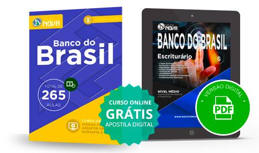 curso online Banco do Brasil 2016
