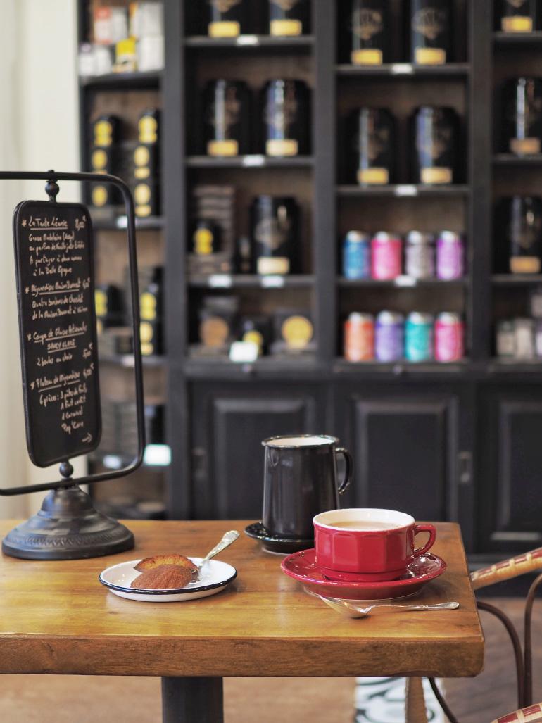 Salon de thé et épicerie fine Monsieur Aurélien au Mont-Dore