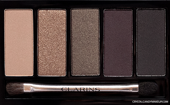 Clarins 5-Colour Eyeshadow Palette 02 Pretty Night Review