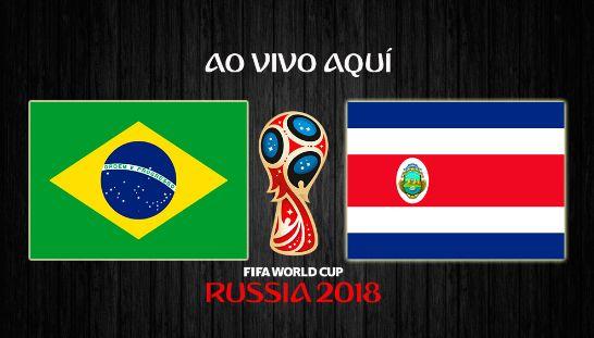 Assistir Jogo do Brasil e Costa Rica ao Vivo