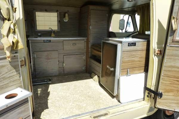 Used RVs 1966 Ford E100 Econoline Camper Van For Sale by Owner