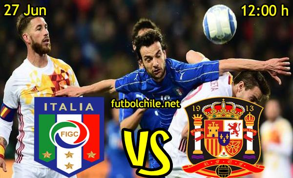 VER STREAM RESULTADO EN VIVO, ONLINE: Italia vs España