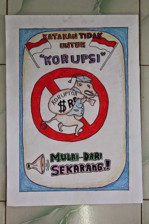 Poster Karya Siswa Siswi Sma Negeri 1 Tanjung Dalam Lomba
