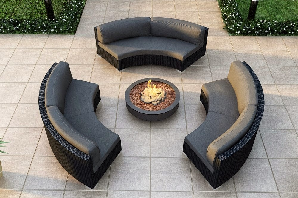 Outdoorcouches curved outdoor couches