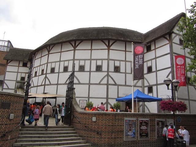 Teatro Globe Theatre em Londres