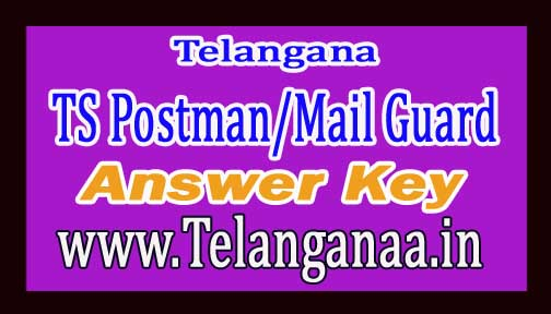 TS Postman/Mail Guard (Paper-1) Answer Key by Eenadu & Sakshi 2016