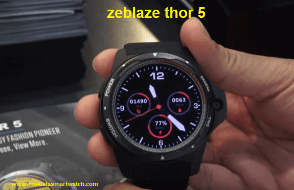 Zeblaze Thor 5  4G SmartWatch All You Want To Know