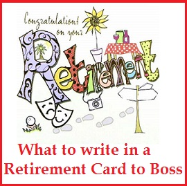 Sample Messages and Wishes! : Retirement