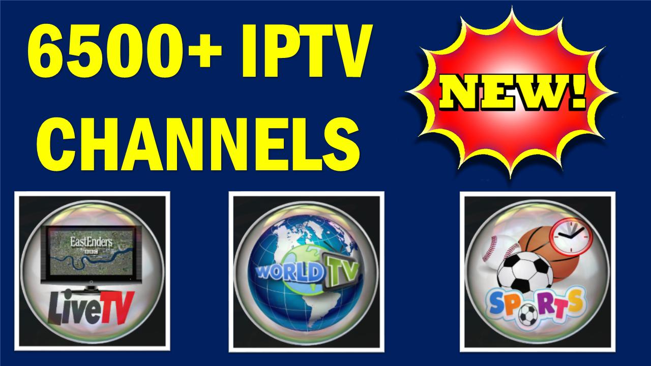 BEST LIVE IPTV KODI ADDON MARCH 2018 - 6500+ IPTV CHANNELS