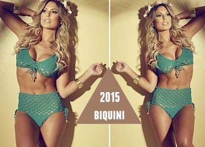 Bikini croche braga alta estrella 2015