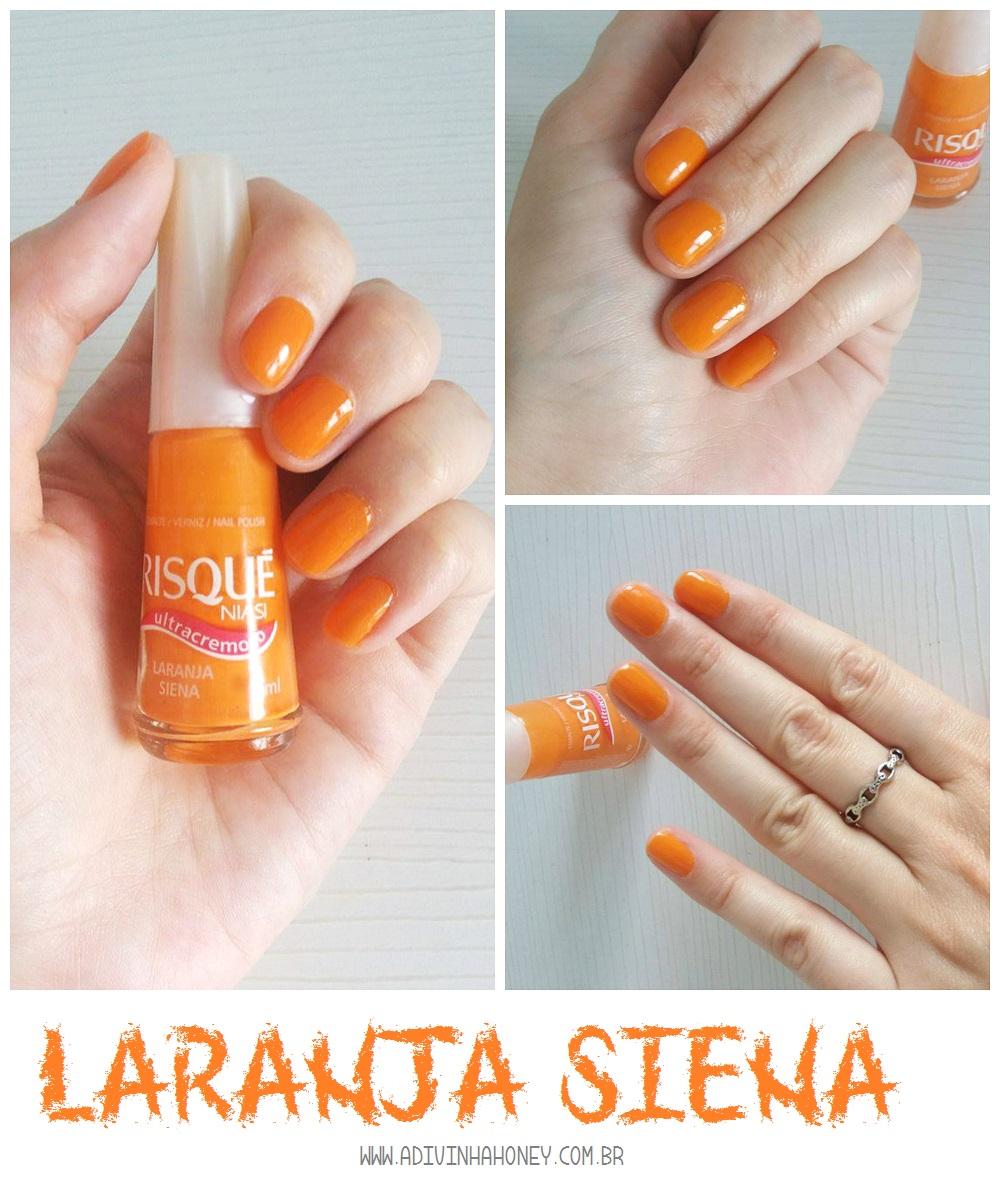 esmalte laranja siena risque