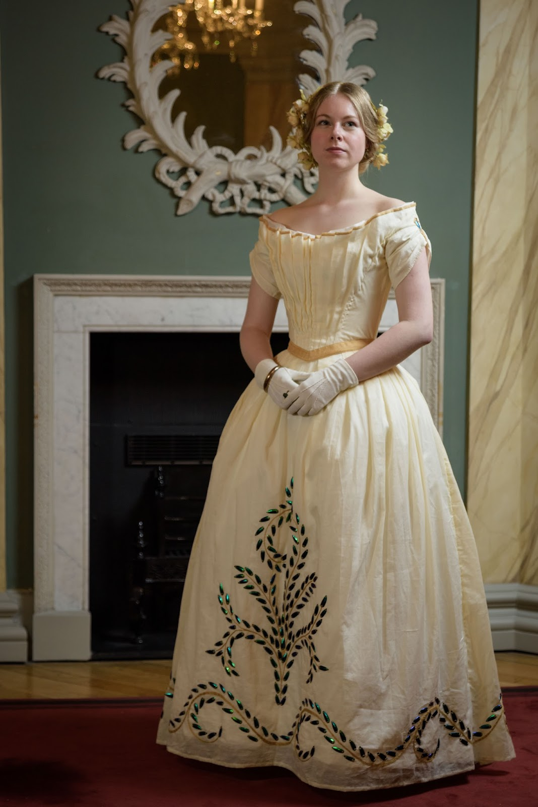 Isabel Northwode Costumes: Beetlewing Ballgown and the Bath ...