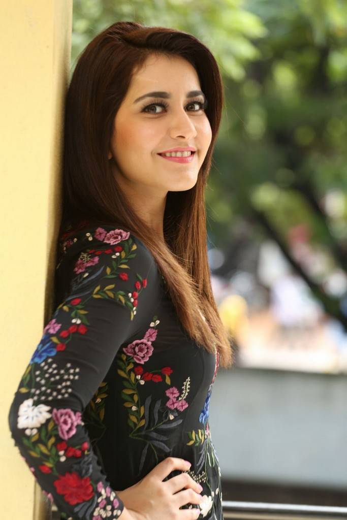 Raashi Khanna At Jai Lava Kusa Movie Interview Stills