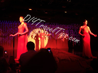 Calypso Cabaret Thai Ladyboys doing Chinese traditional performance