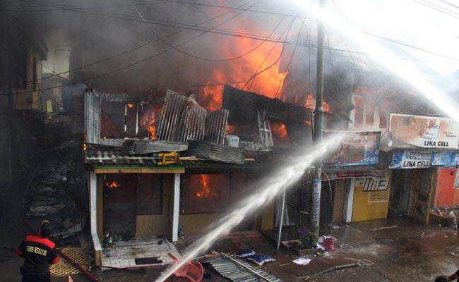 Kebakaran Di Pannampu Hanguskan 2 Rumah