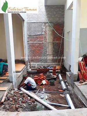 Jasa Pembuatan Kolam Minimalis | Kolam Koi Surabaya