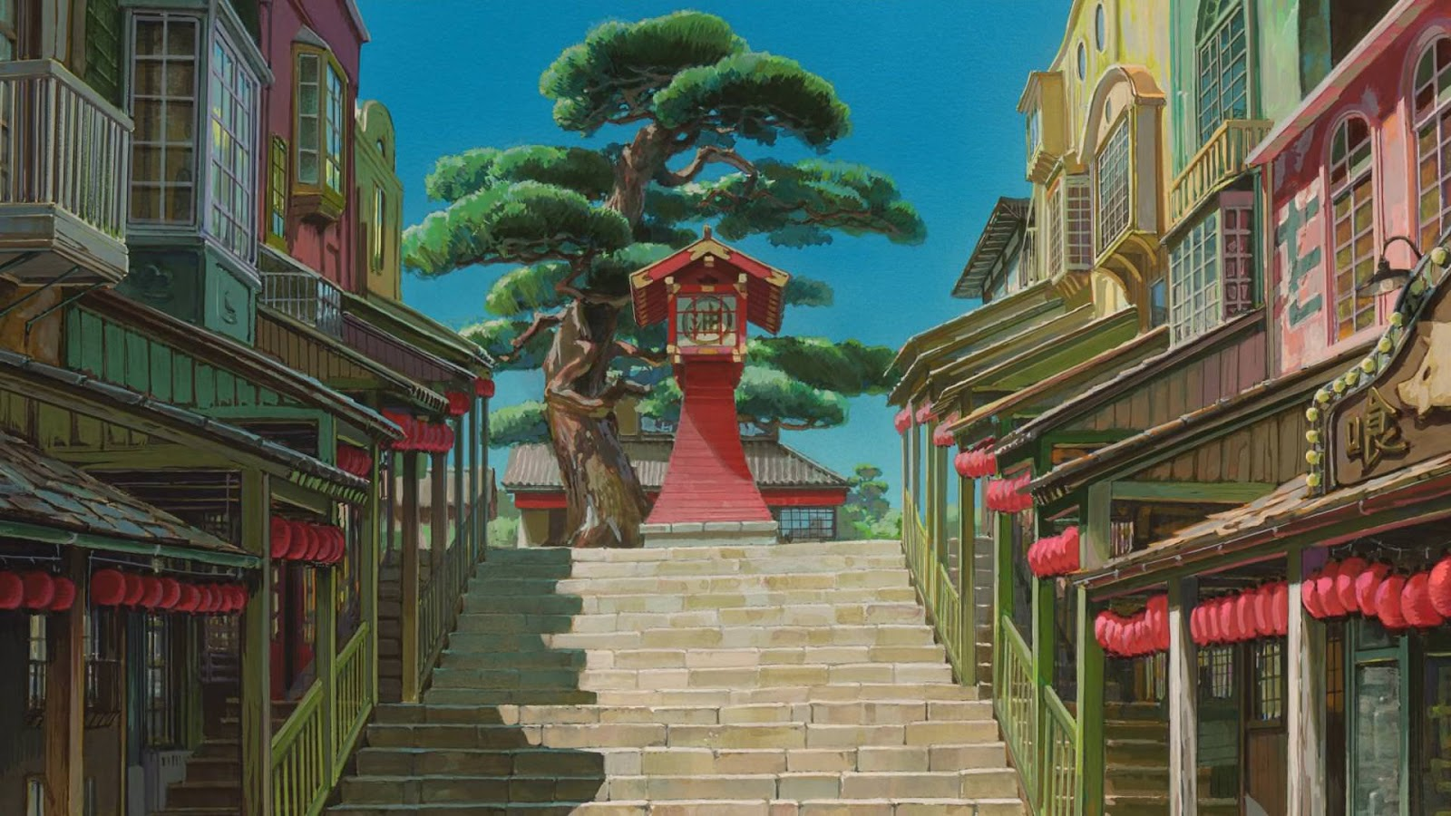 Spirited Away Background Artistry Yoji Takeshige Art Director