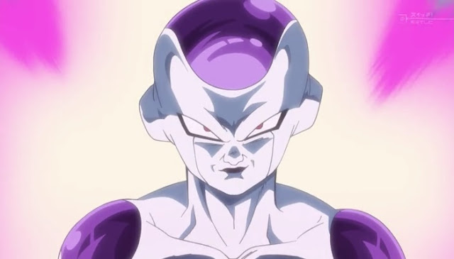 Freeza dourado dragon ball super