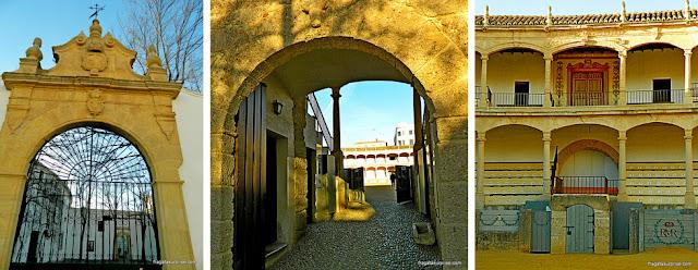 Portões e Camarote Real da Arena de Touros de Ronda, Andaluzia