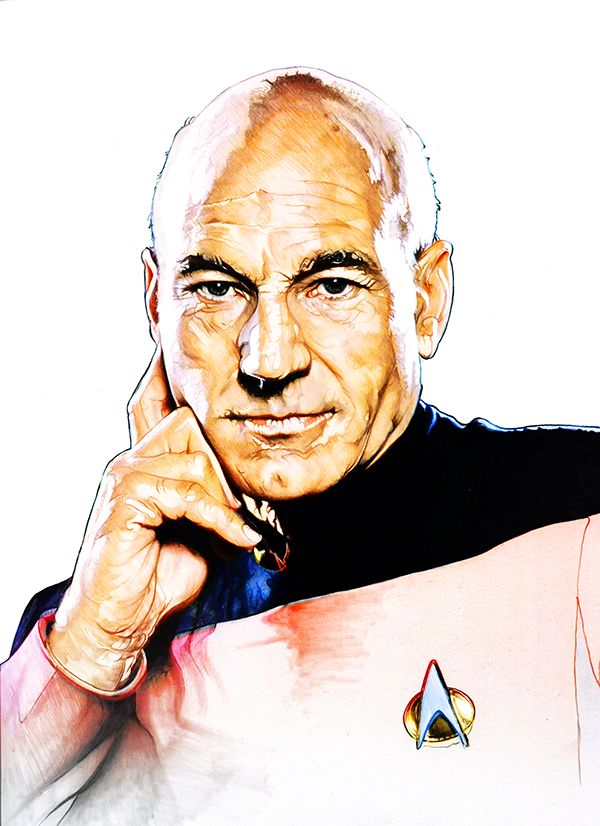 11-Patrick-Stewart-Jean‑Luc-Picard-Corbyn-S-Kern-Game-of-Thrones-Star-Trek-and-Star-Wars-Character-Drawings-www-designstack-co