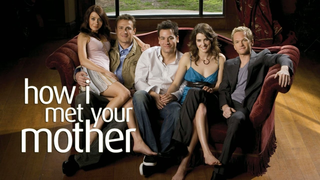 HD How I Met Your Mother cast poster