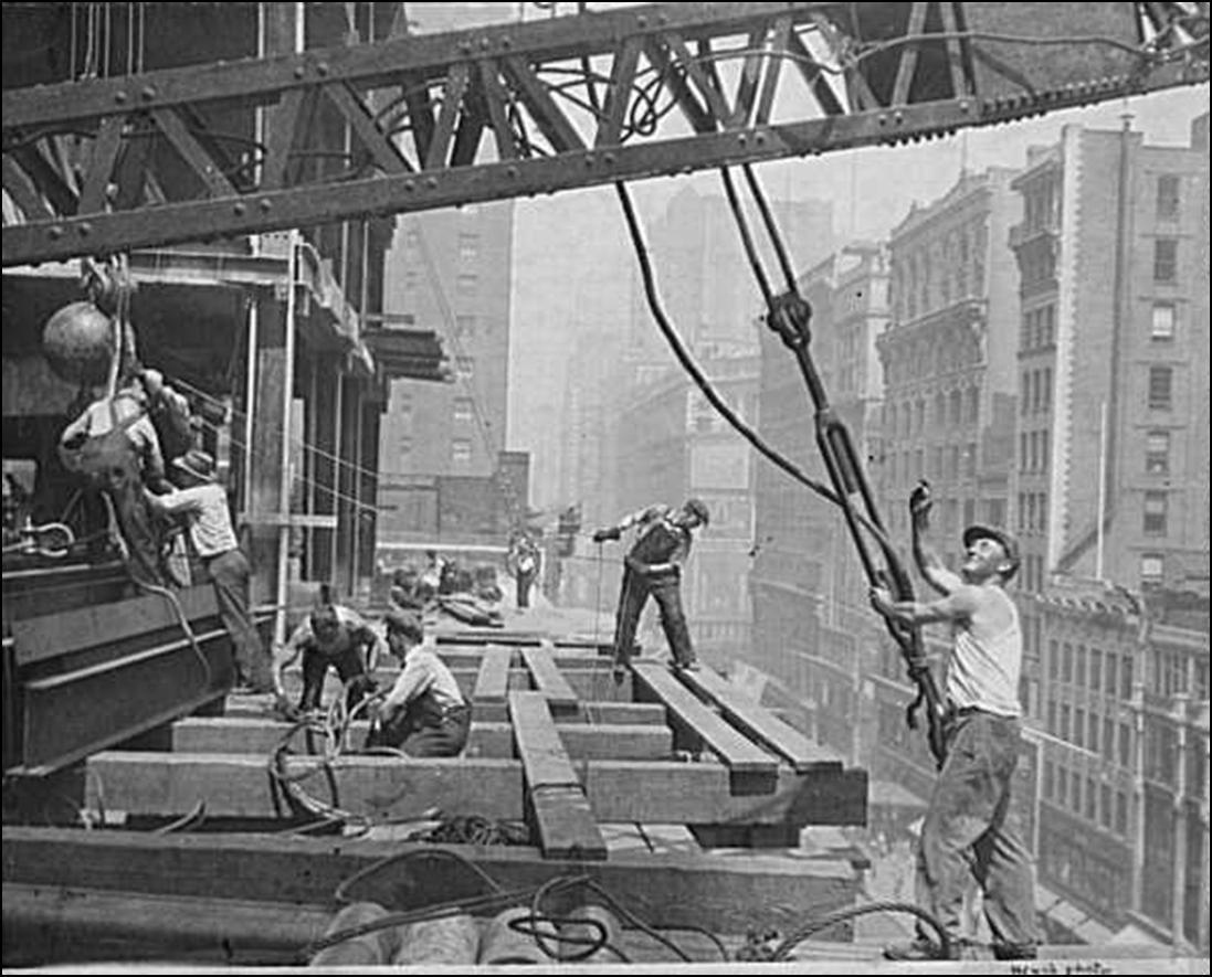 Construction, History, Life
