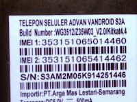 Firmware Advan s3a wg3512_z35w03_V2_4.4
