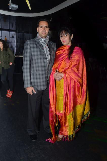 (L-R) Adarsh Singh, Rashmi Singh