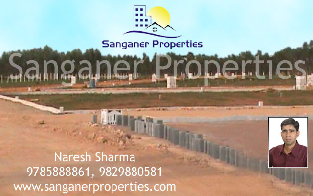 Commercial Land Available For Sale in Sanganer
