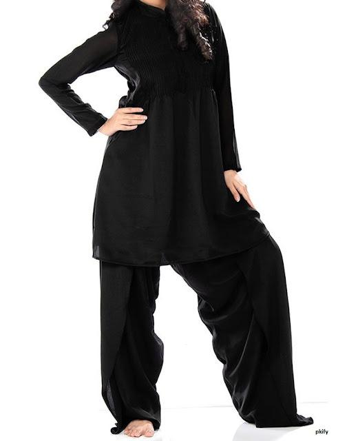 Black Sleeve Ladies Dresses