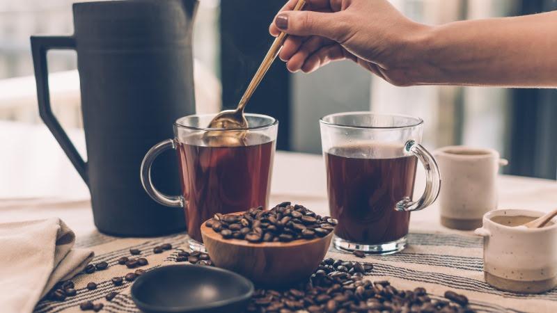 2 Hot Coffee Cups HD
