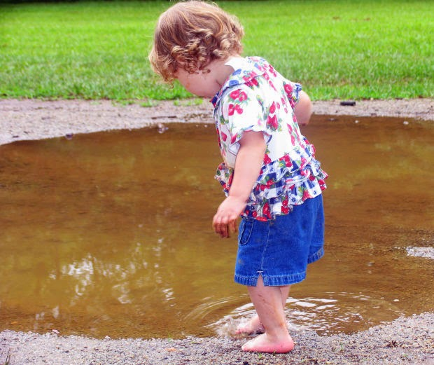 Image: Mud Puddle Girl, by Anita Peppers, on Morguefile
