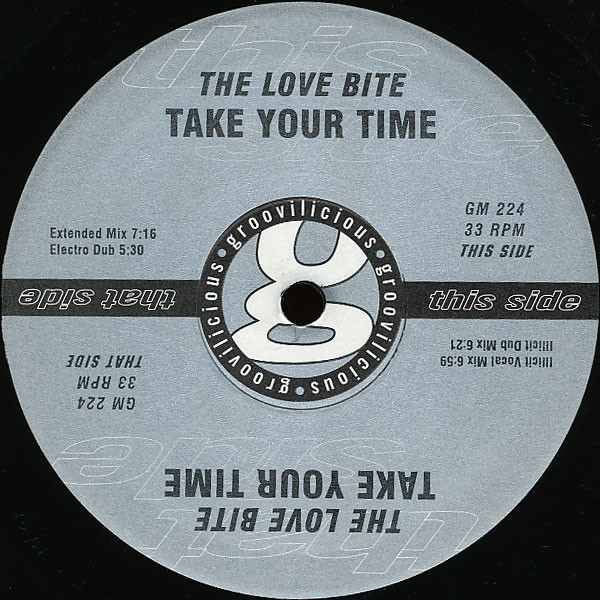Sucessos De Sempre The Love Bite Take Your Time
