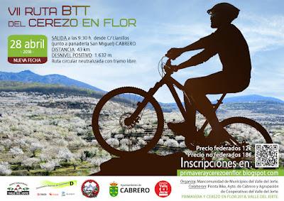 VII Ruta BTT del Cerezo en Flor. Valle del Jerte