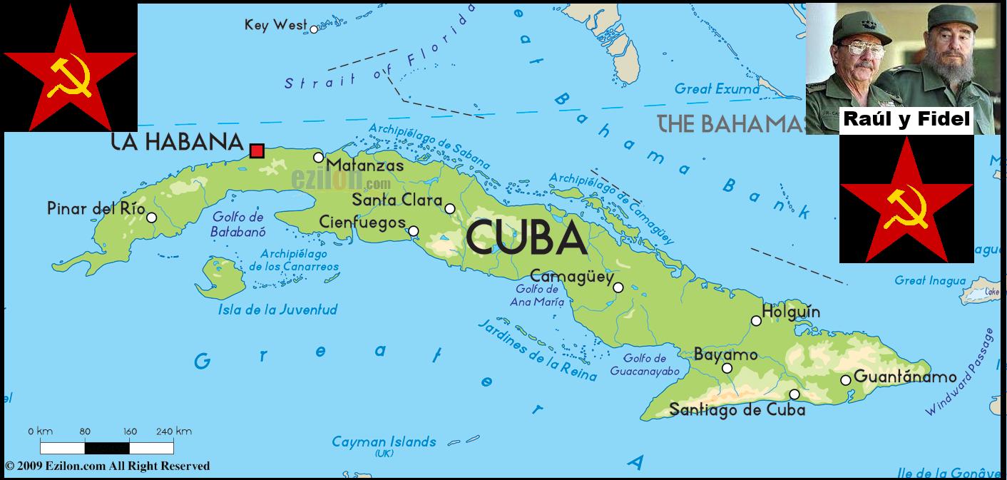 Estado anzoategui mapa