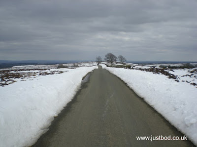 Snow Cleared Road