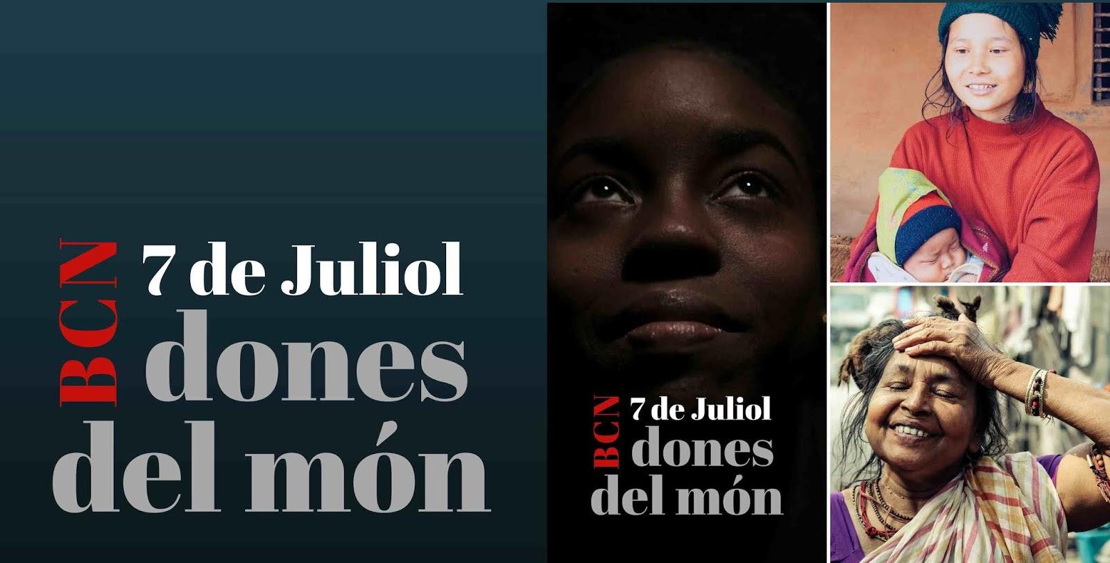 DONES DEL MÓN, 7 de Julio Cocheras de Sants BCN