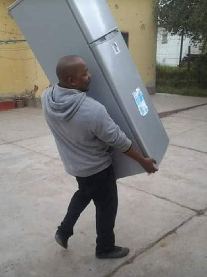 Man took his fridge back from his cheating girlfriend