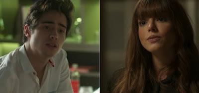 Danilo Mesquita e Giovanna Lancellotti são vistos aos beijos