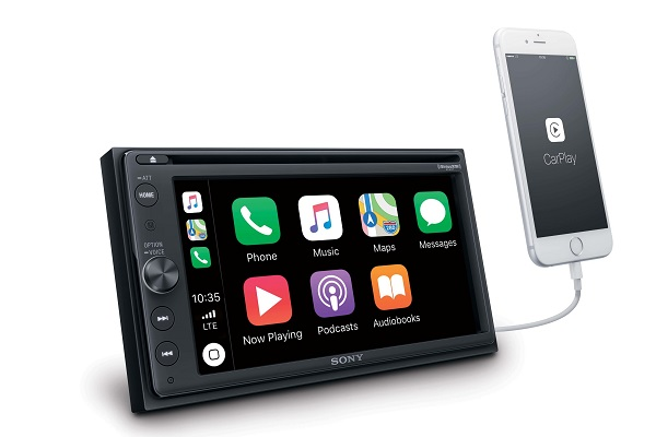 SONY launches AV Center XAV-AX210 in-car receiver with Android Auto and Apple CarPlay support