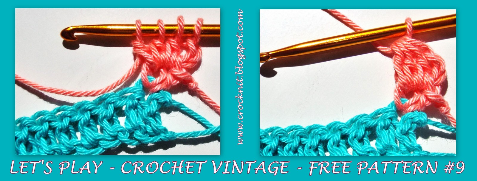 how to turn at the end of a crochet row