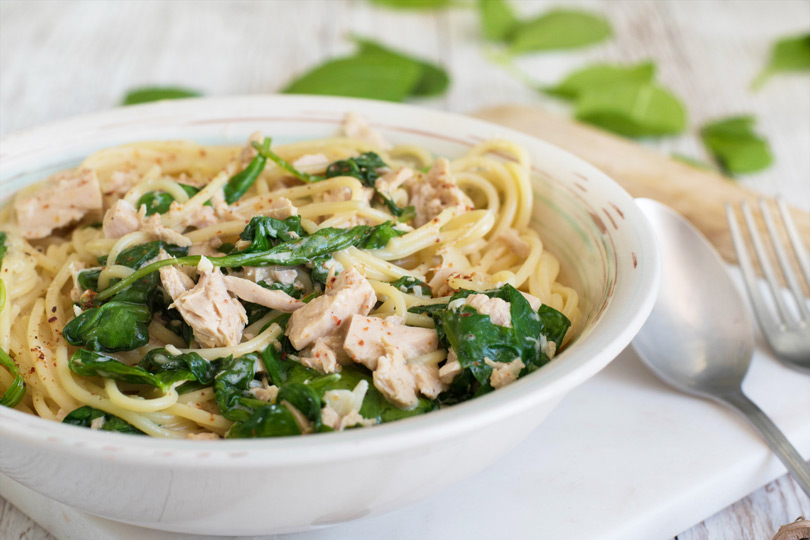 recette Spaghettis thon