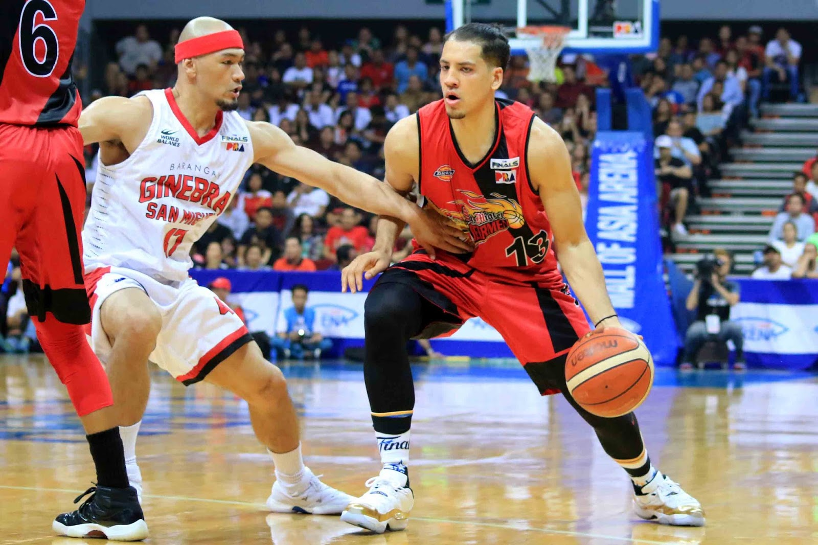 Ginebra vs. San Miguel Game 2 PBA Finals 2017