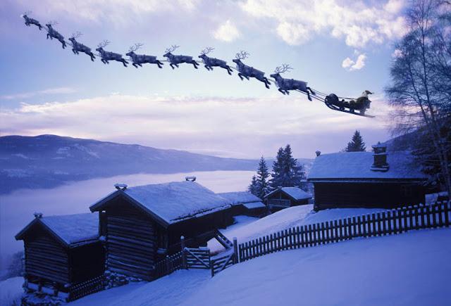 winter magic photo series by per breiehagen